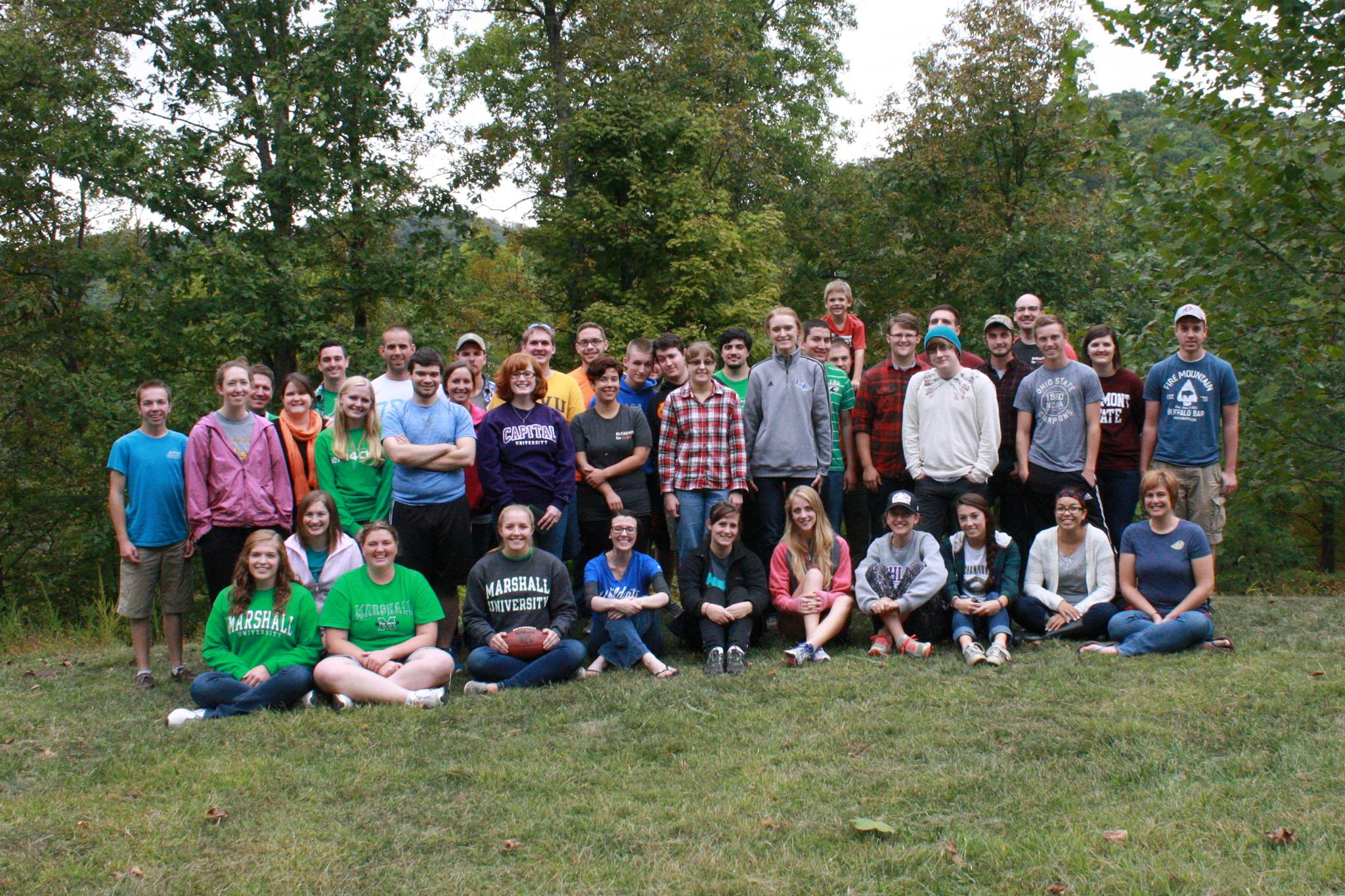 Campus Ministry Retreat Group 2015