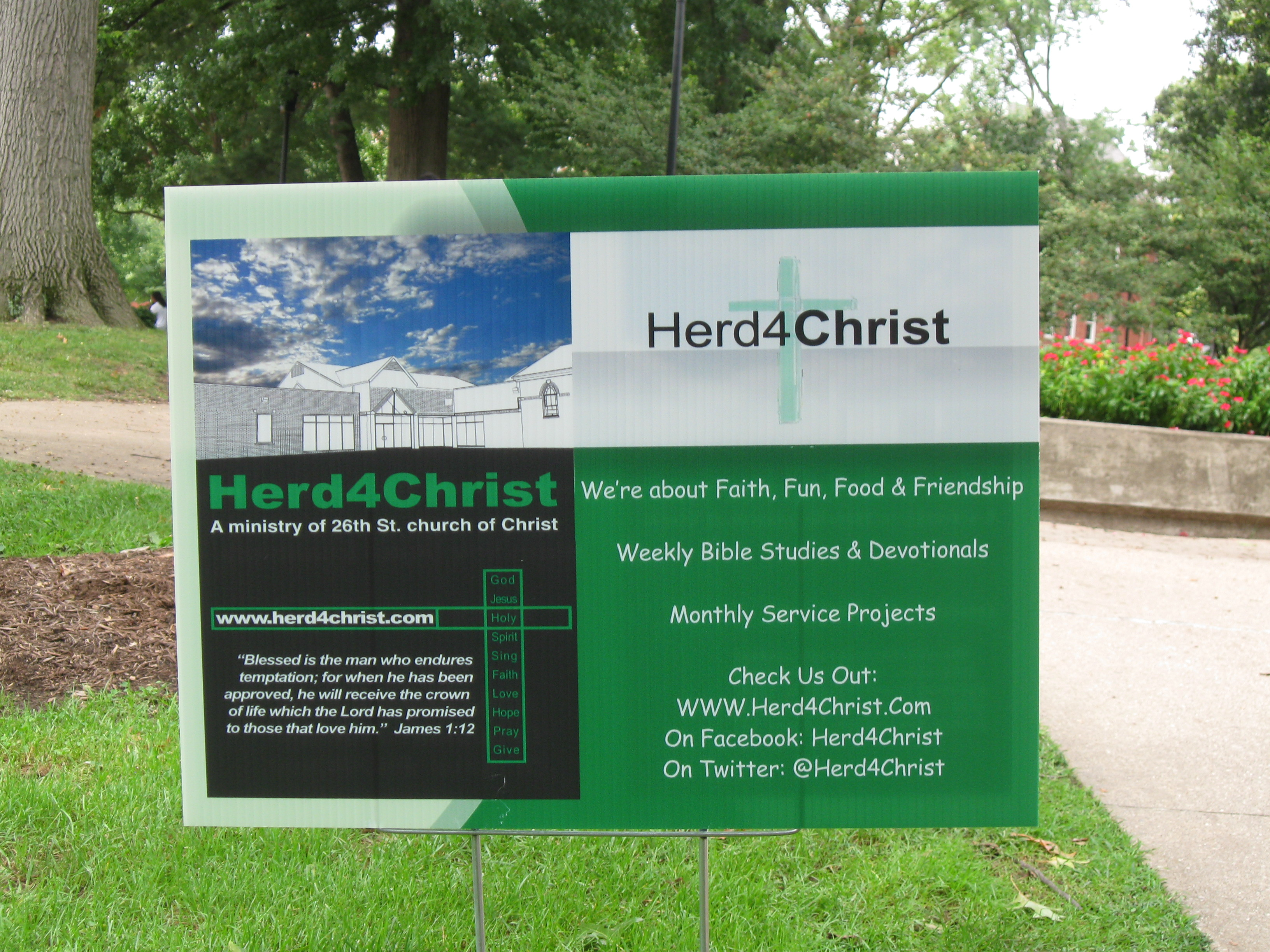 Herd4Christ Sign